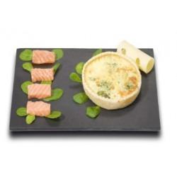 Tarte aux Saumon Epinards
