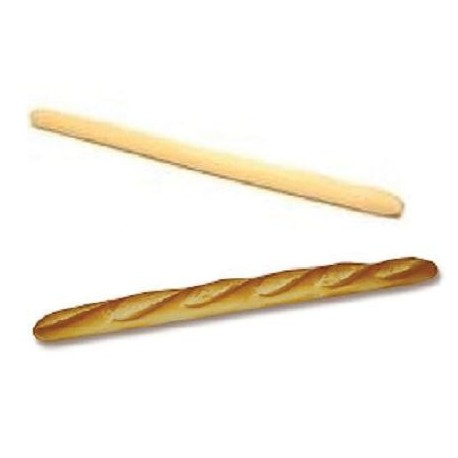 Pâte à pain congelée, flûte, prête à pousser