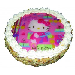 Entremets Hello Kitty Fraise