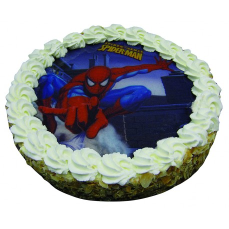 Entremets Spiderman Fraise