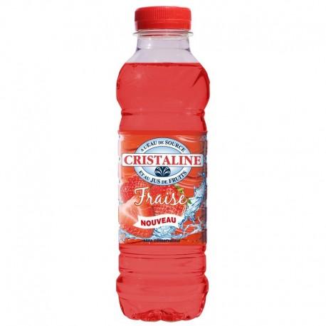 Eau Cristaline fraise 50cl