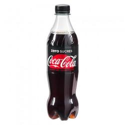 Coca Cola zéro 50cl - Pack de 12 bouteilles