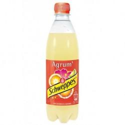 Schweppes Agrum 50cl - Pack de 24 bouteilles