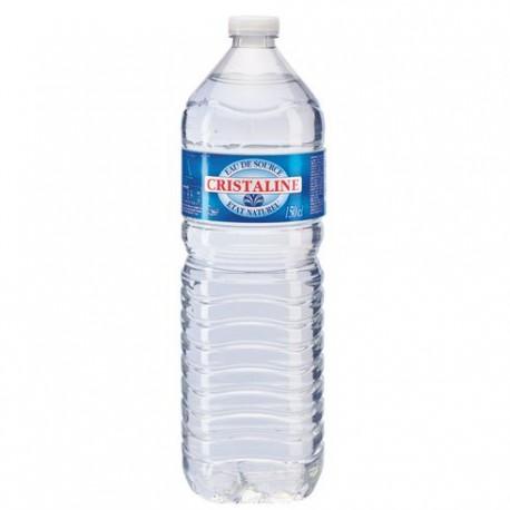 Cristaline 1,5L (Pack de 6 bouteilles)