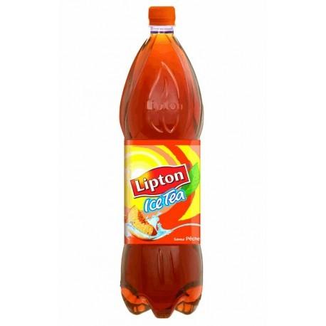 Lipton ice tea pêche 1,5L (pack de 9 bouteilles)