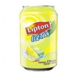 Lipton citron 33cl (pack de 24 canettes)