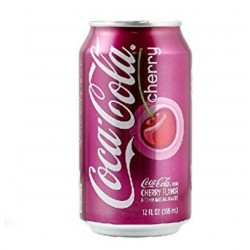 Coca Cola Cherry 33cl (Pack de 24 canettes)