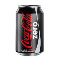 Coca Cola zéro 33cl (Pack de 24 canettes)