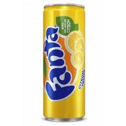 Fanta Citron 33cl (Pack de 24 canettes)