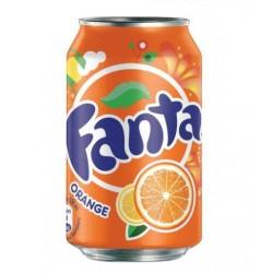 Fanta orange 33cl (Pack de 24 canettes)