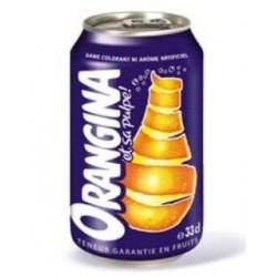 Orangina 33cl (pack de 24 canettes)