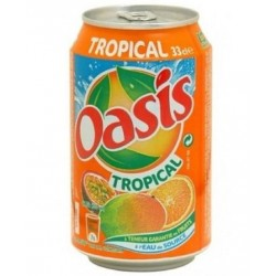 Oasis Tropical 33cl (pack de 24 canettes)