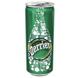 Perrier slim 33cl (pack de 24 canettes)