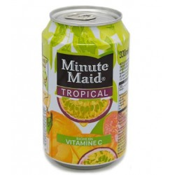 Minute Maid Tropical 33cl (pack de 24 canettes)