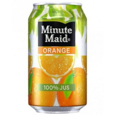 Minute Maid Orange 33cl - Pack de 24 canettes