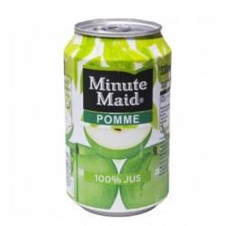 Minute Maid Pomme 33cl - Pack de 24 canettes