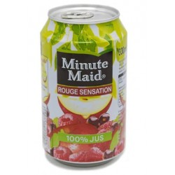 Minute Maid Fruit rouge 33cl - Pack de 24 canettes