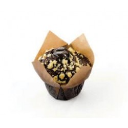 Muffin prem fourré triple chocolat