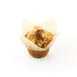 Muffin Pomme-Cannelle Fourré au Caramel