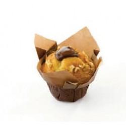 Muffin Vanille Fourré au Cacao-Noisette